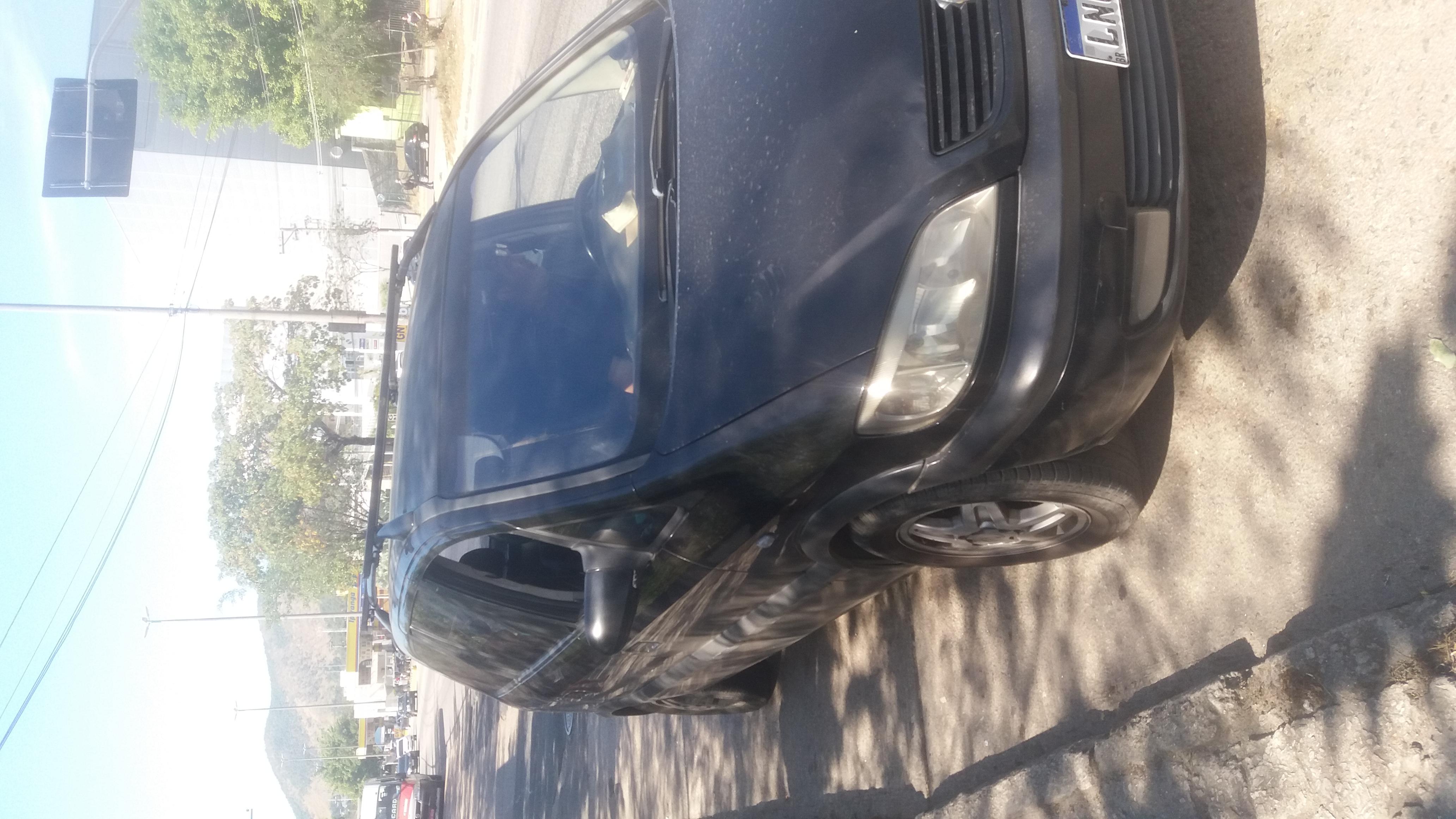 Carro zafira 2002
