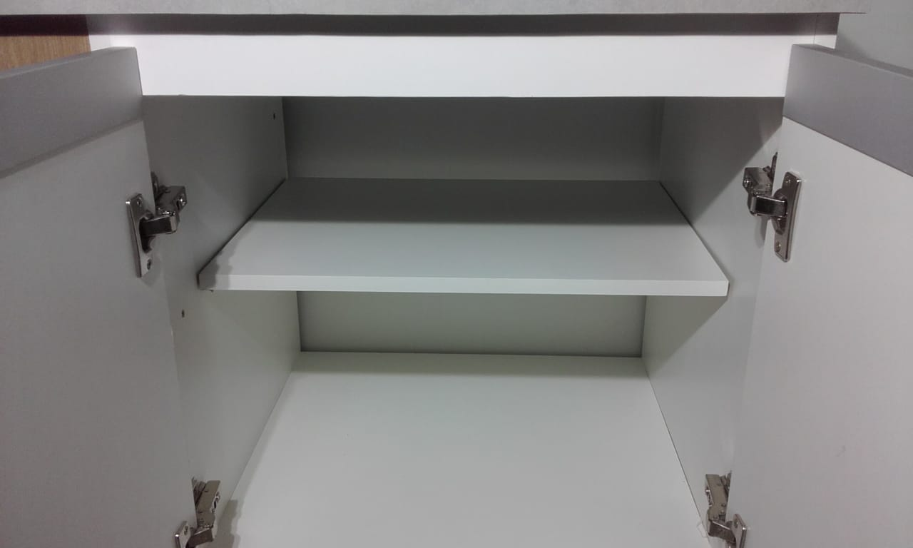 Armário para banheiro com lavatório em porcelanato2