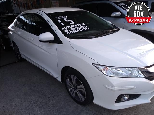 HONDA CITY 1.5 LX 16V FLEX 4P AUTOMÁTICO 2015