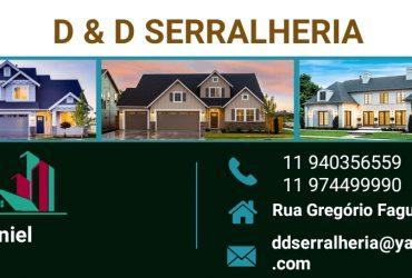 D & D SERRALHERIA