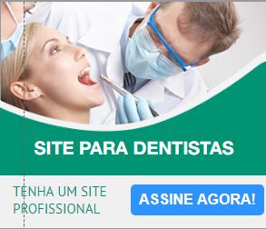 Site para DENTISTAS, MÉDICOS E QUIROPRATAS  a partir de 29,90 por mês.