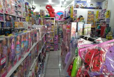 Loja de brinquedos e fantasias