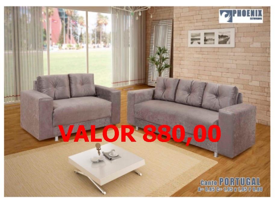 sofá 2 e 3 lugares