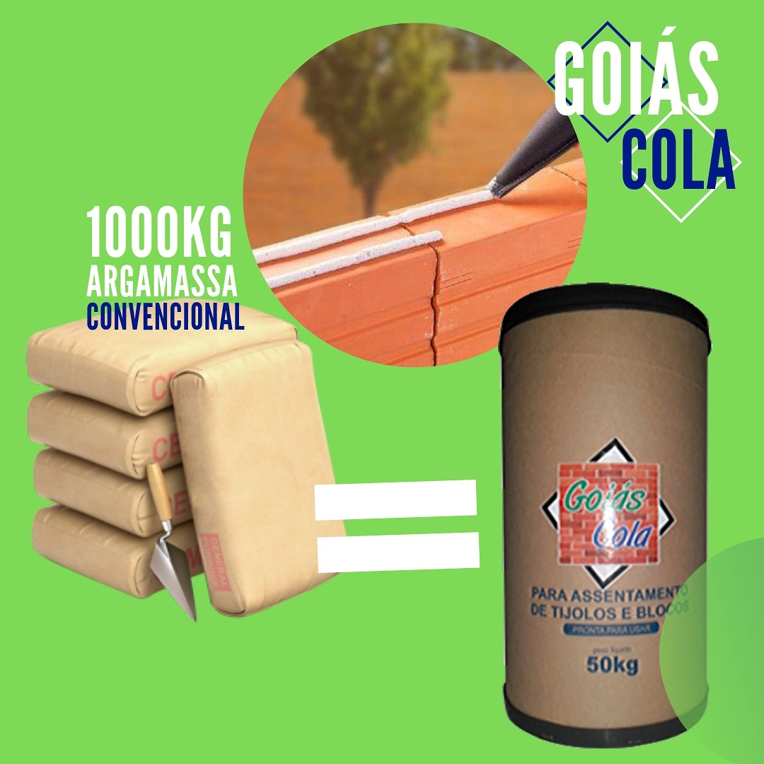 Argamassa Polimérica Goiás Cola