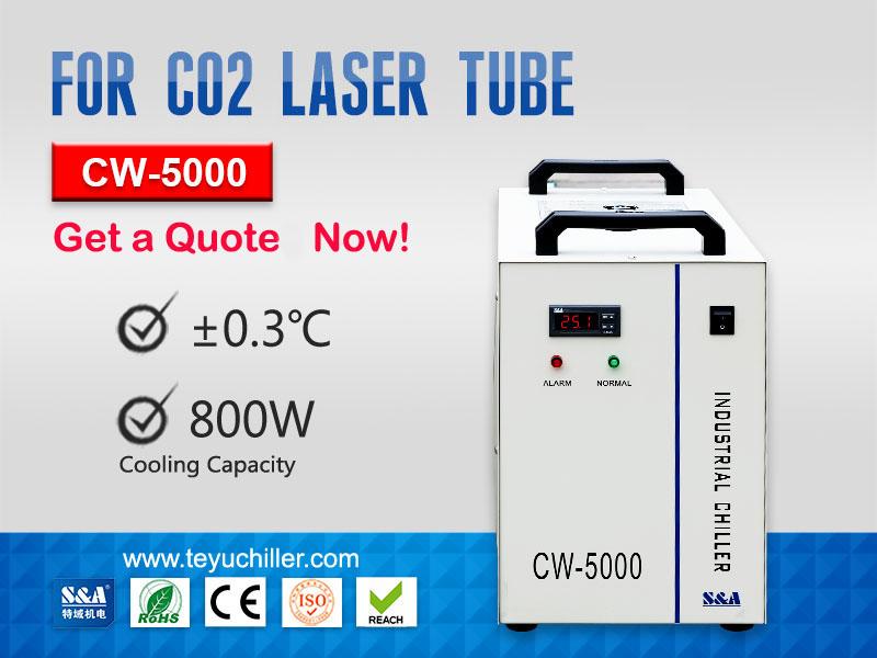 Refrigeradores De Água Cw-5000 Capacidade De Refrigeração 800w