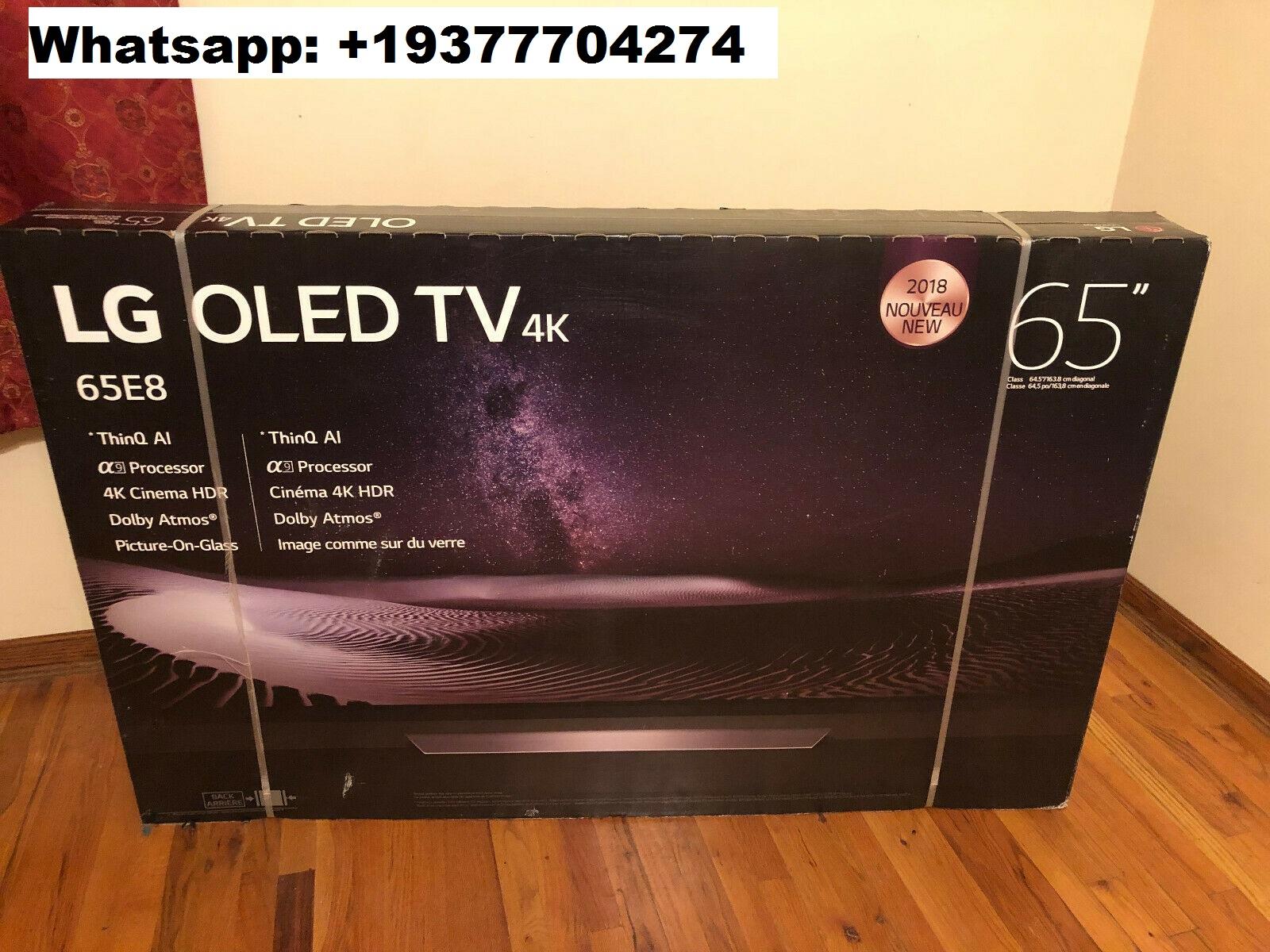 "SÉRIE LG E8PUA THINQ OLED65E8PUA TV SMART OLED de 65 ""4K ULTRA HD NOVO NA FÁBRICA"