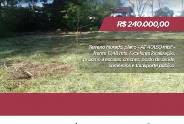 Terreno 401 mts² – Jardim Serrano