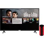 """Android TV Led 32"""" Tcl 32s6500 Bluetooth Controle Remoto com Comando de Voz e Google Assistant + Caixa Bluetooth TCL Bs12a a Prova D´água 12w"""