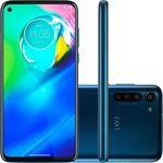 "Smartphone Motorola Moto G8 Power 64GB Dual Chip Android 6,4"" Qualcomm Snapdragon 665 (SM6125) 4G Câmera Traseira 16MP + 8MP + 2MP Filmadora 4K - Azul Atlântico"