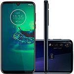"Smartphone Motorola Moto G8 Plus 64GB Dual Chip Android 6.3"" Qualcomm Snapdragon 665 (SM6125) 4G Câmera 48MP + 5MP + 16MP- Azul Safira"