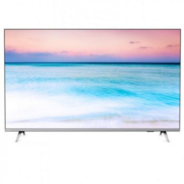"Smart Tv Led 58"" Philips 58pug6654/78 Ultra Hd 4k Design Sem Bordas W"