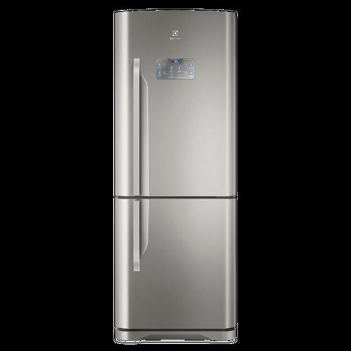 Geladeira/Refrigerador Frost Free Bottom Freezer Inverter Inox 454 Litros (IB53X)
