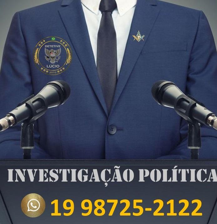 Investigação Política – Agência de Investigações Detetive Lucio