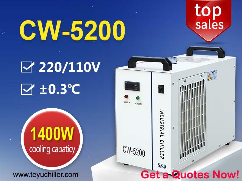 Refrigeradores De Água Cw-5200 Capacidade De Refrigeração 1400w