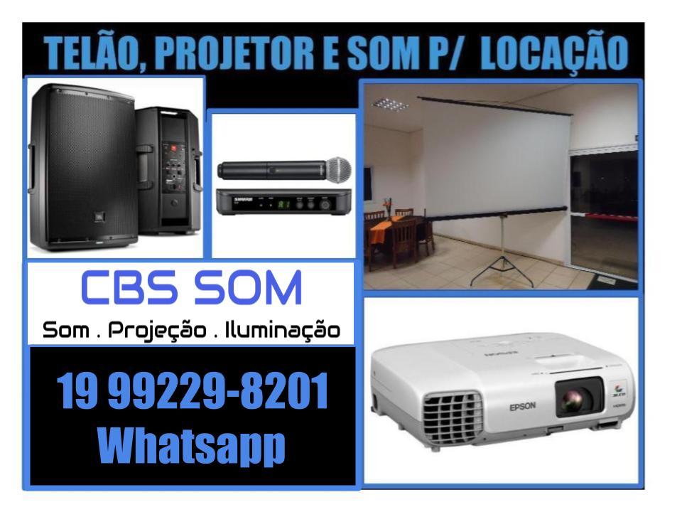 Aluguel de projetor Campinas 19 99229-8201