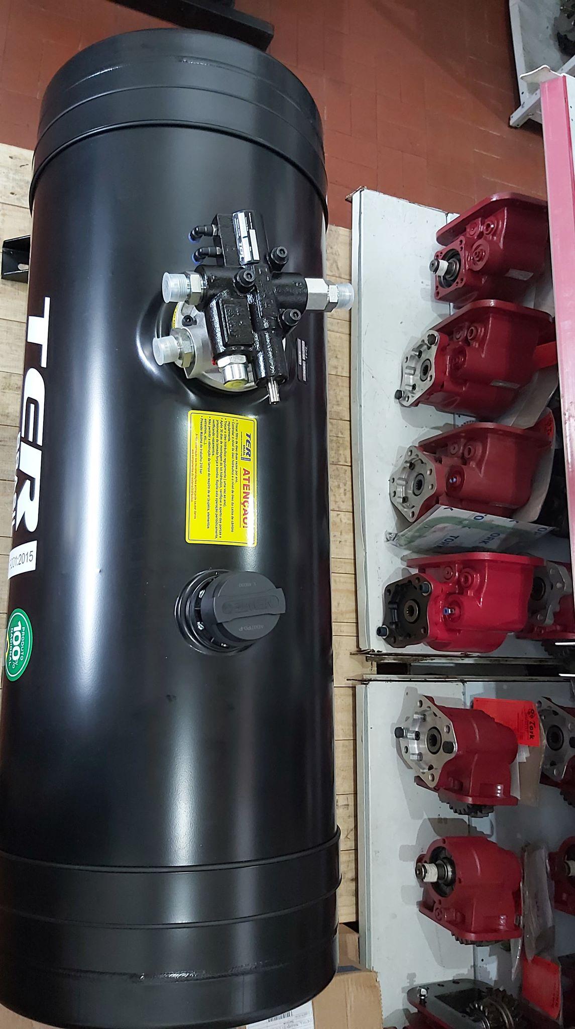 kit hidráulico caçamba basculhante