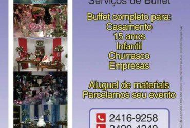 BUFFET INFANTIL 50 CONVIDADOS VALOR 1.000