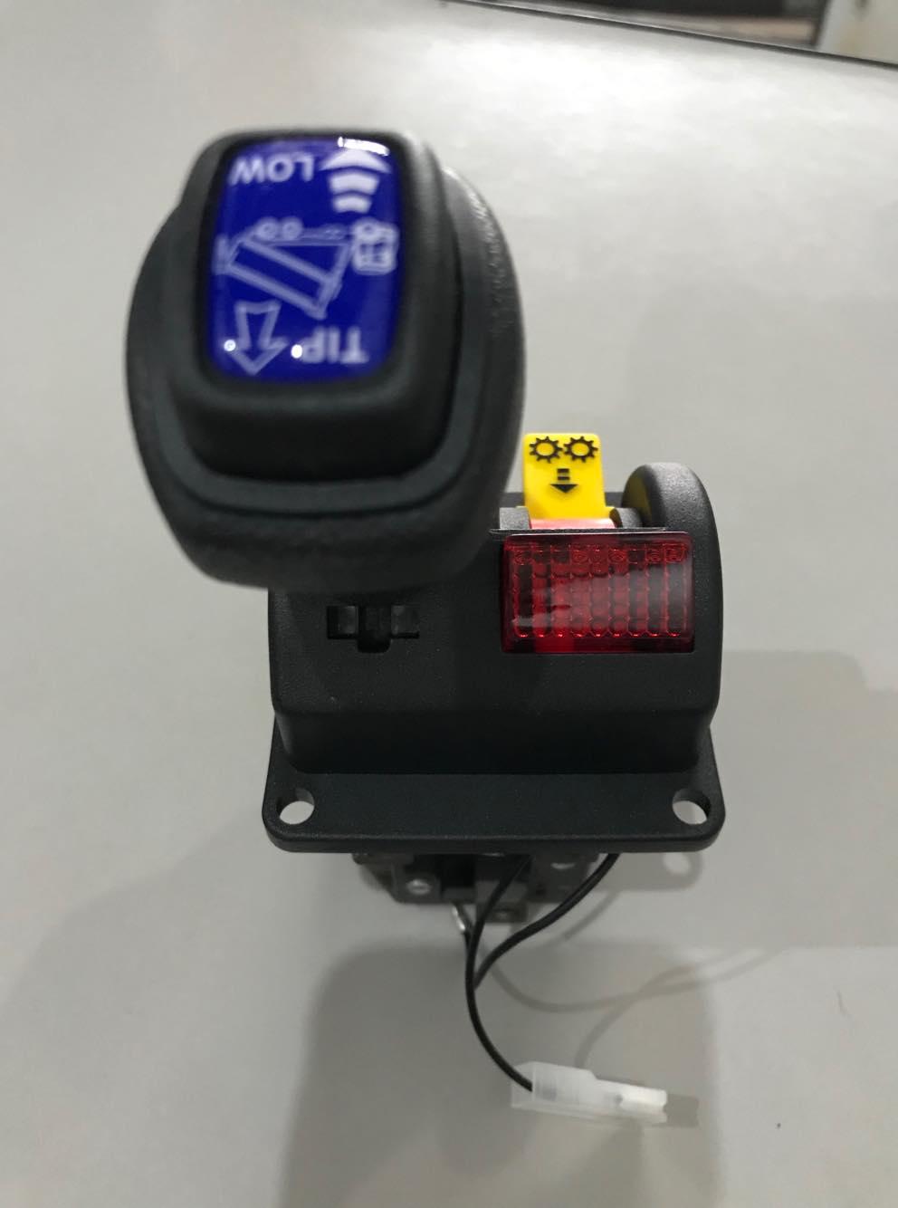 joystick para caçamba basculhante