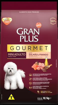 Ração para cachorro Gran Plus Gourmet Adulto Mini