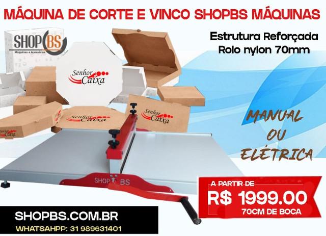 Maquina De Corte E Vinco Manual 70cm – SHOPBS MÁQUINA