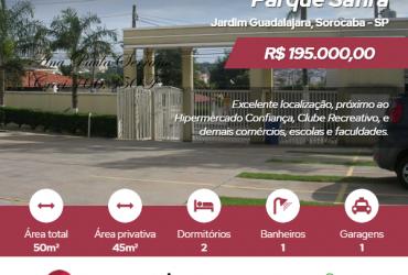 Apto 02 dts – VENDA ou LOCAÇÃO – Cond. Parque Safira – Jd. Guadalajara