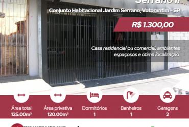 Casa residencial ou comercial – Jd. Serrano II