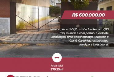 Terreno – Centro de Sorocaba