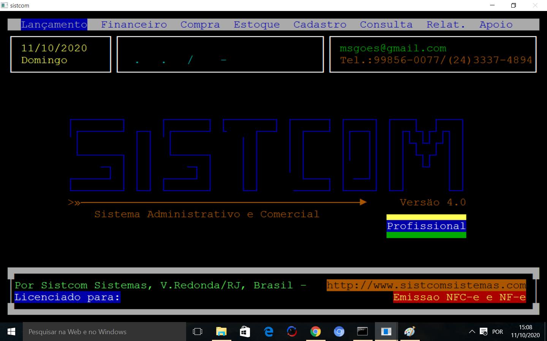 Sistemas administrativos e comerciais