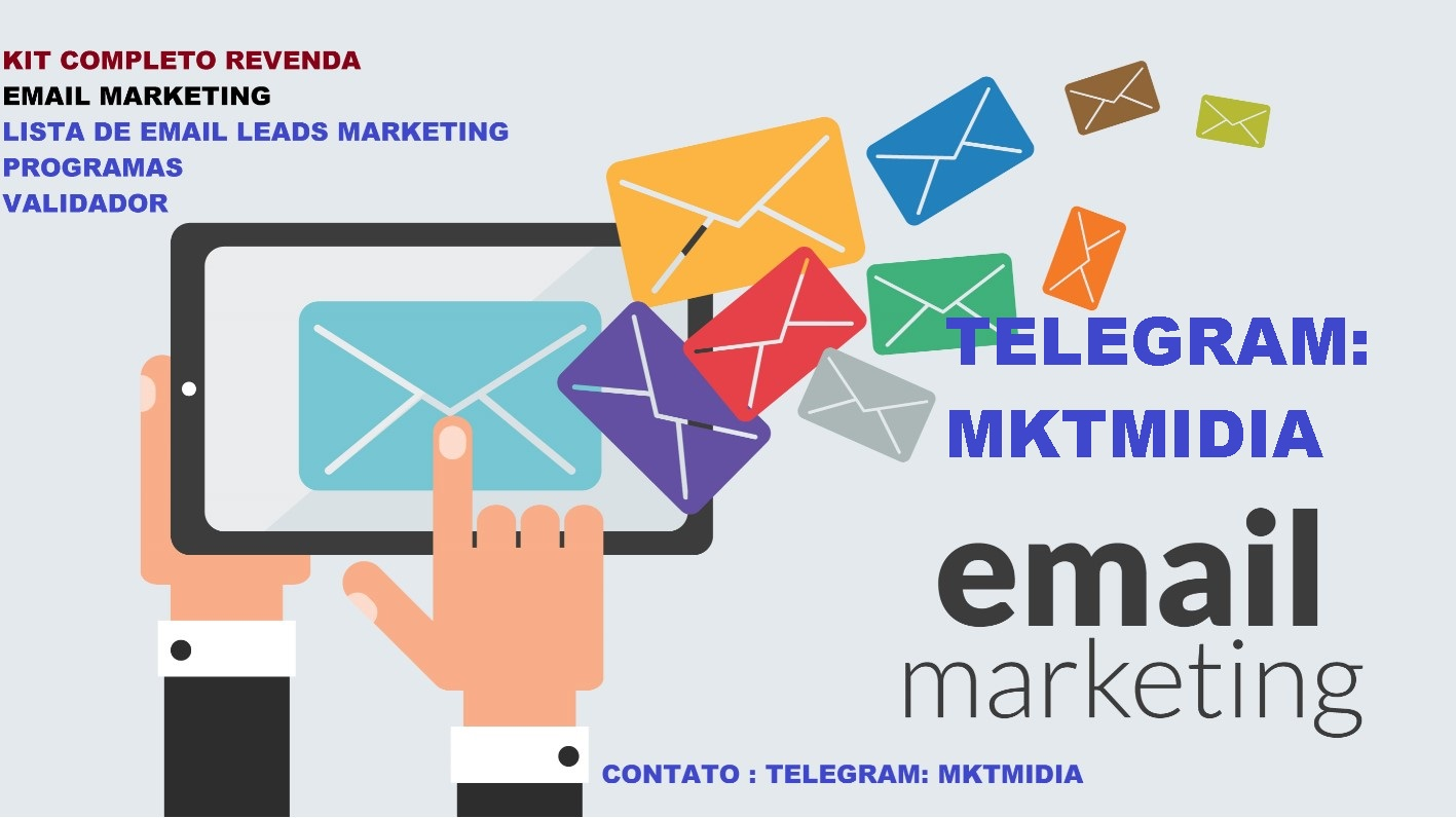 Kit Completo Email Marketing Revenda