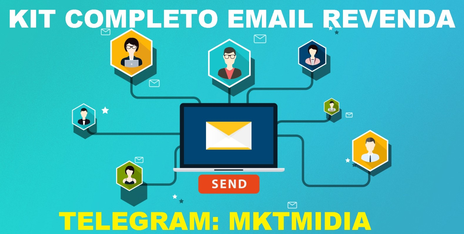 Kit Completo Email Marketing Revenda