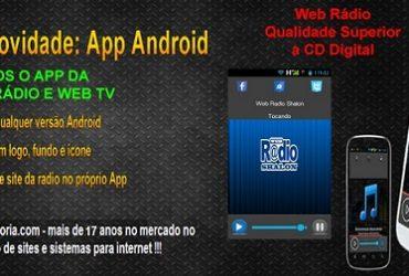 Site para Igrejas com Web Rádio Online e App Grátis