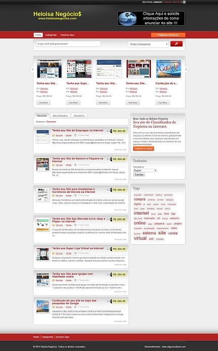 Tenha seu Site de Classificados na Internet com Aplicativo