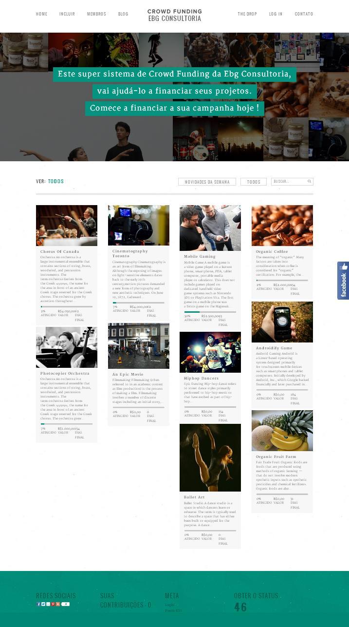 Tenha seu Site de Crowdfunding tipo Vakinha na Internet com Aplicativo