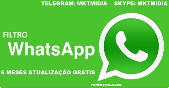 Filtro De Contatos Whatsapp Marketing