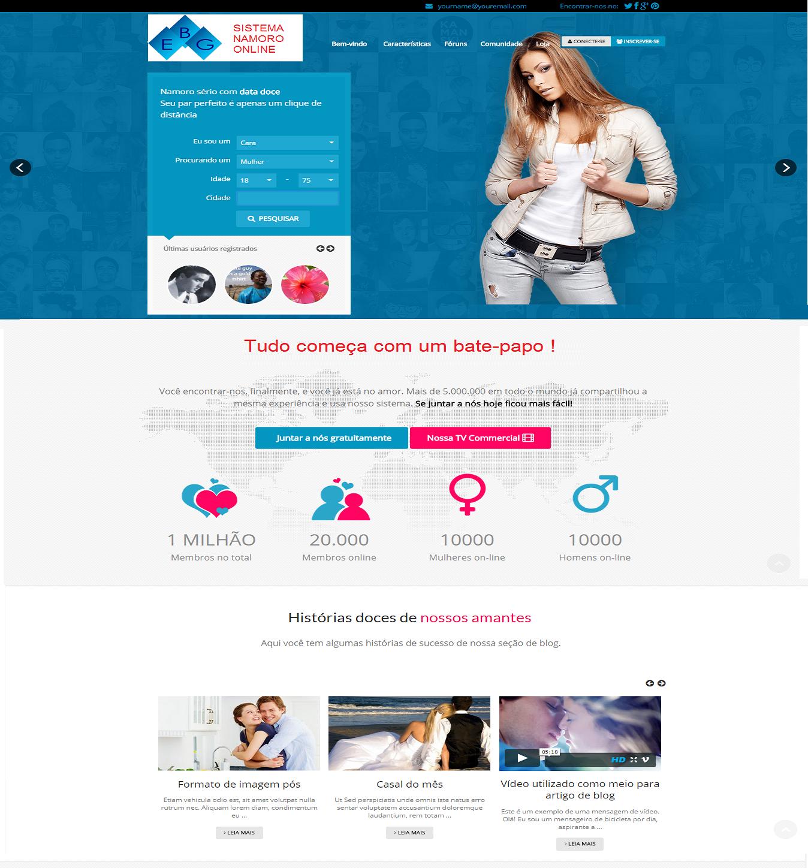 Tenha seu Site de Namoro e Paquera na Internet com Aplicativo