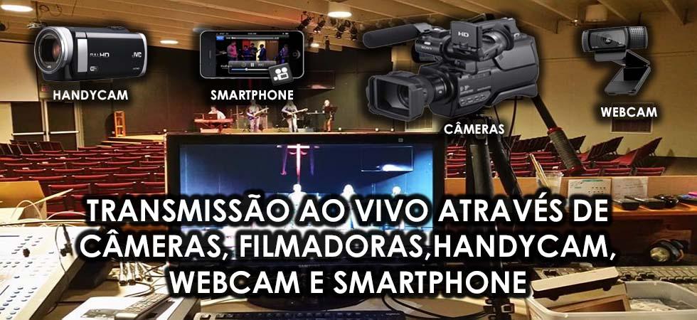 Site para Igrejas com Web TV Online e App Grátis