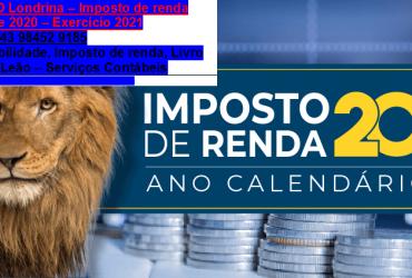 Jardim San Isidro|Contador, imposto de renda… Carnê Leão – Livro Caixa