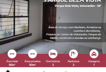 Apartamento térreo, Parque Bela Vista, Votorantim