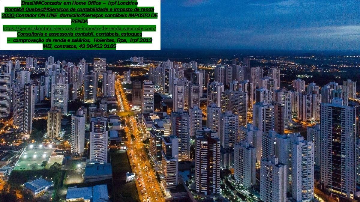 Declaração do IR 2021 – Serviços – Centro, Londrina…