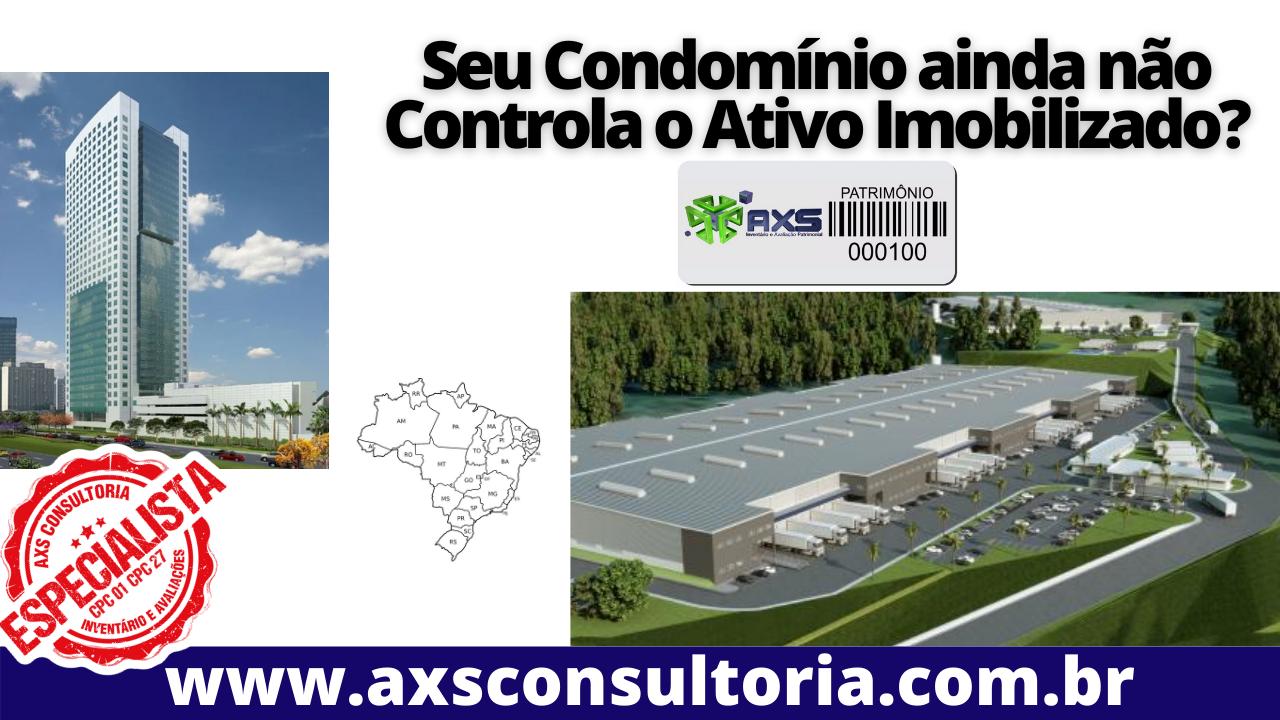 Controle do Ativo Imobilizado em Condomínios Residenciais e Empresariais – em todo o Brasil!