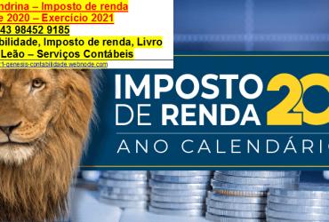 Declaração De Imposto Renda DIRF2021 Em Jardim Morumbi Sobre Investimentos.