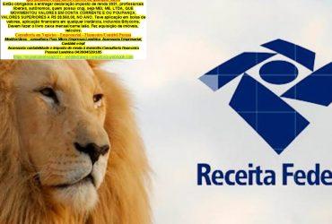 LEÃO 2021###Declaração do Imposto de Renda em Londrina, PR