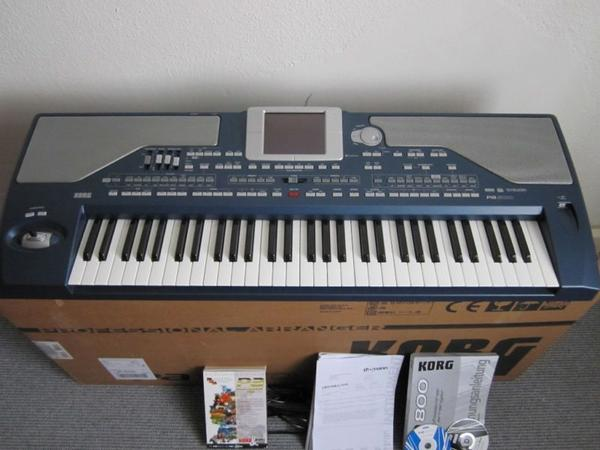 Novo teclados Korg M3, Korg Pa4x, Korg OASYS, Korg Kronos, Yamaha Motif, Yamaha Genos