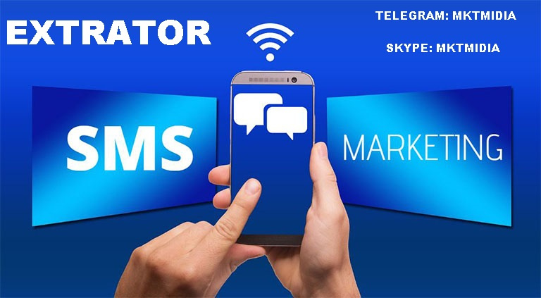 Software Extrator Celulares Sms Marketing