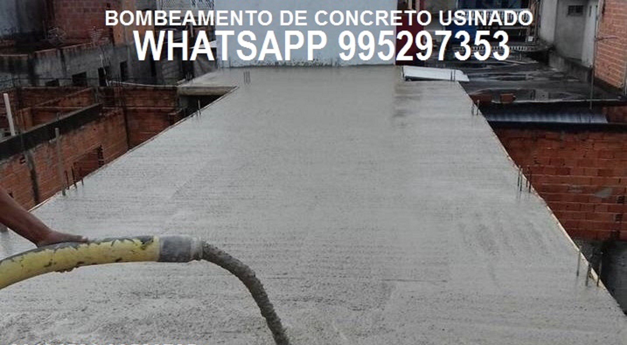 Concreto Bombeado entregas em toda Zona Oeste do Rio