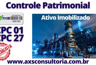 Ativo Imobilizado – Inventário (CPC27) e Avaliação Patrimonial (CPC01) em todo Brasil!
