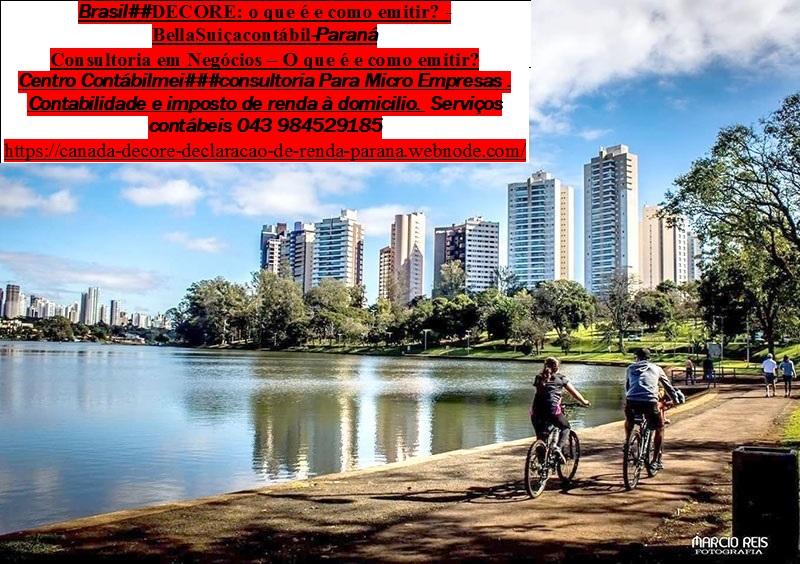 Londrina###Imposto de renda, Contabilidade