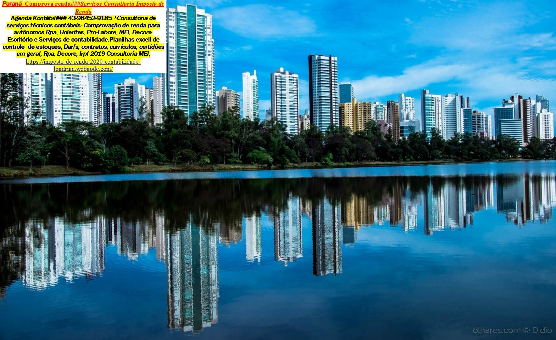 londrina—Comprovante de Renda ##Declaração Informe de rendimentos