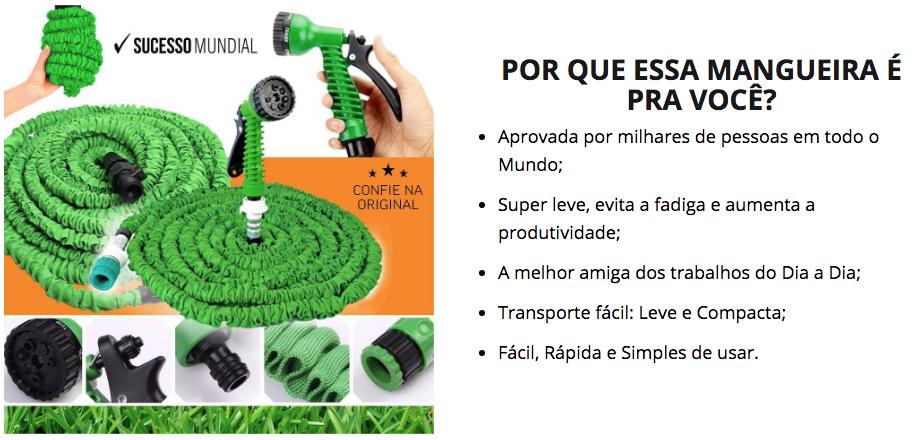 Mangueira Mágica Original – Frete Grátis – Mangueira de Jardim