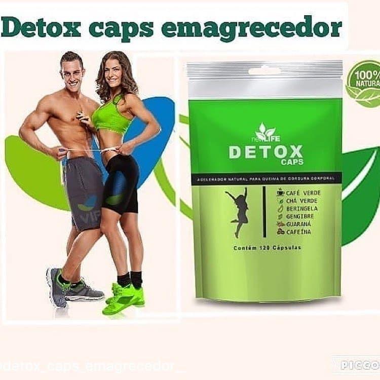 Detox Caps EMAGREÇA DE FORMA RÁPIDA E DEFINITIVA!